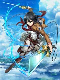 ミカサ(剣)進撃の巨人